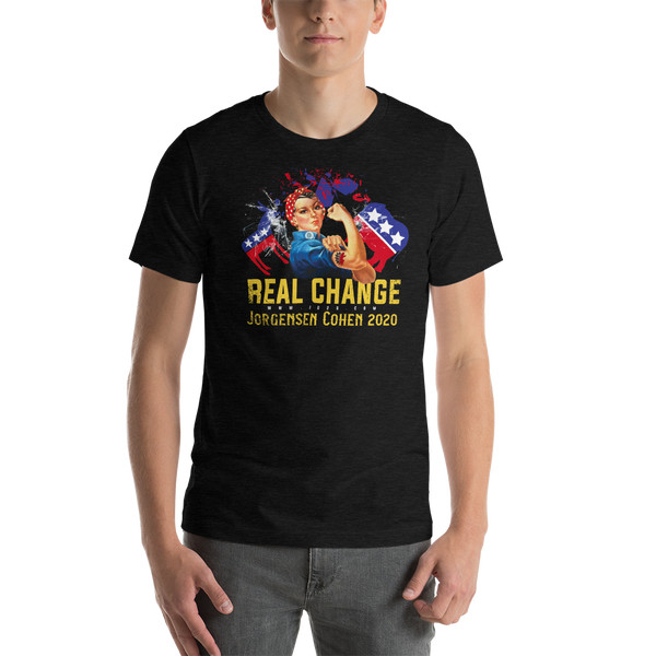 Real Change - Jorgensen 2020 T-Shirt - Proud Libertarian