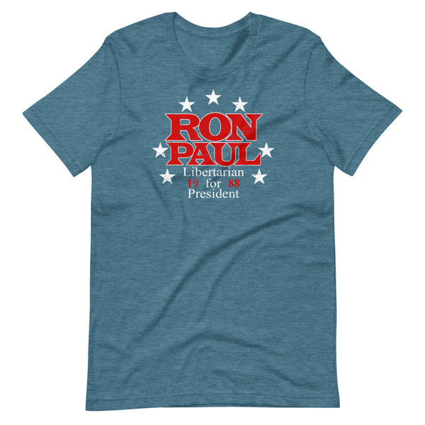 Ron Paul for President Short-Sleeve Unisex T-Shirt - Proud Libertarian