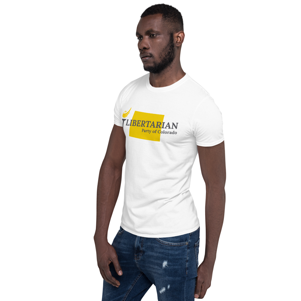 Libertarian Party of Colorado Short-Sleeve Unisex T-Shirt - Proud Libertarian
