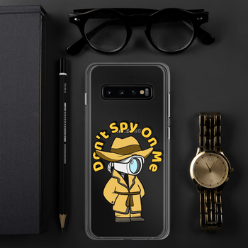Don't Spy on Me Cartoon Samsung Case - Proud Libertarian