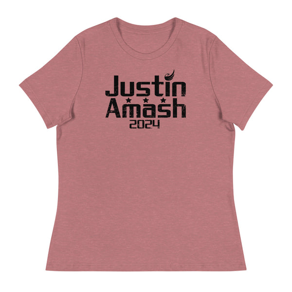 Justin Amash 2024 Women's Relaxed T-Shirt - Proud Libertarian