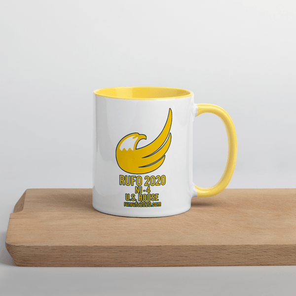 Michael Rufo for Congress Mug with Color Inside - Proud Libertarian
