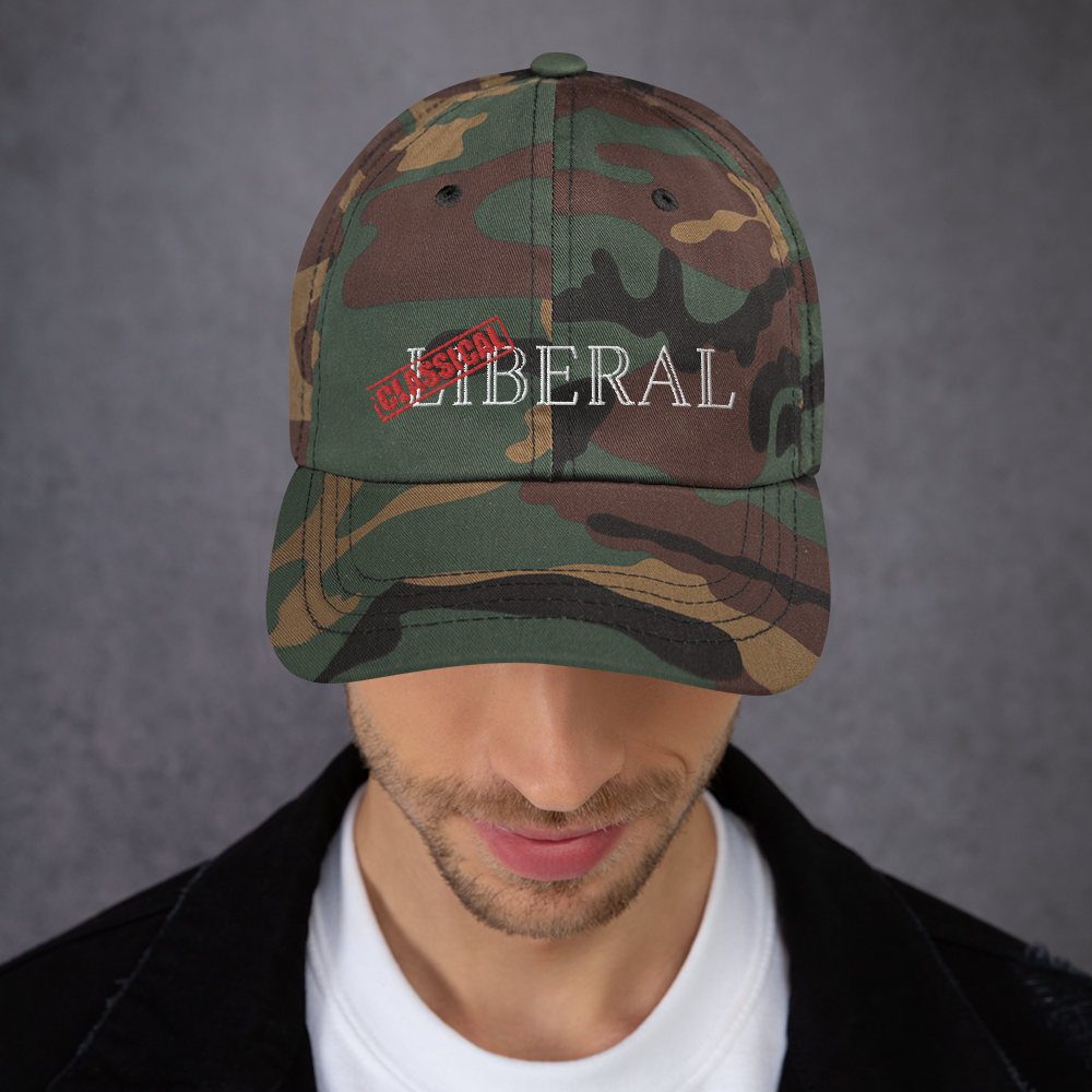 Classical Liberal Dad hat - Proud Libertarian
