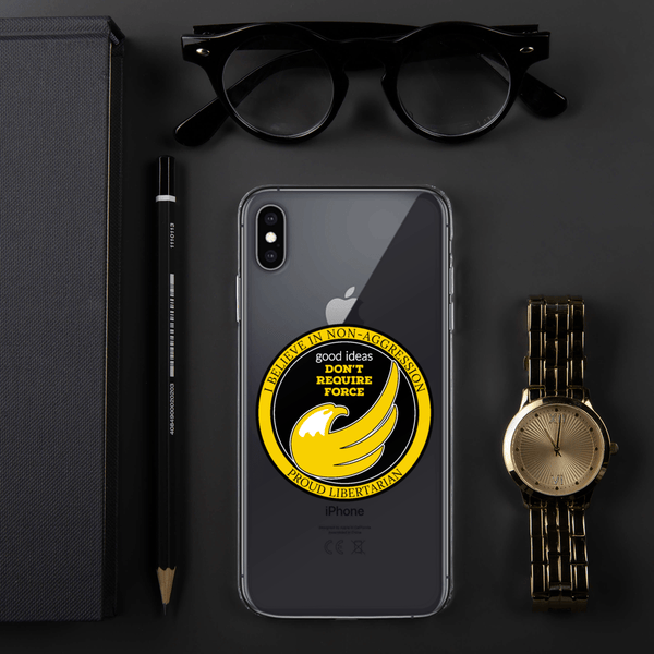 good ideas Don't require Force iPhone Case - Proud Libertarian