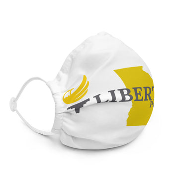 Libertarian Party of Georgia Face Mask Premium face mask - Proud Libertarian