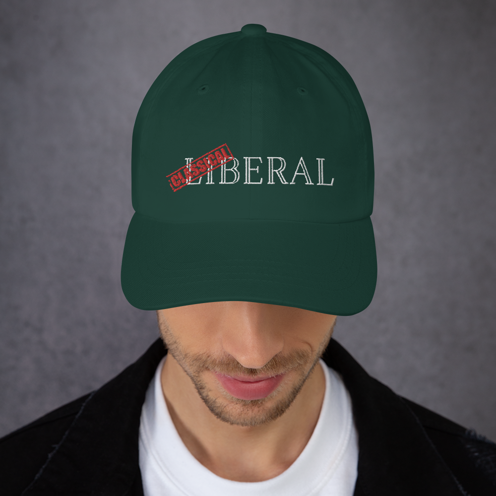 Classical Liberal Dad hat