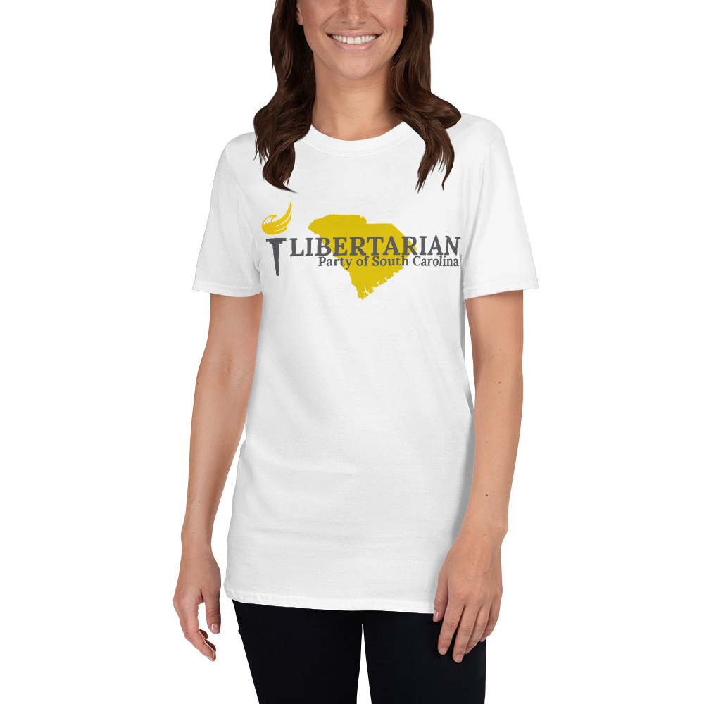 Libertarian Party of South Carolina Short-Sleeve Unisex T-Shirt - Proud Libertarian