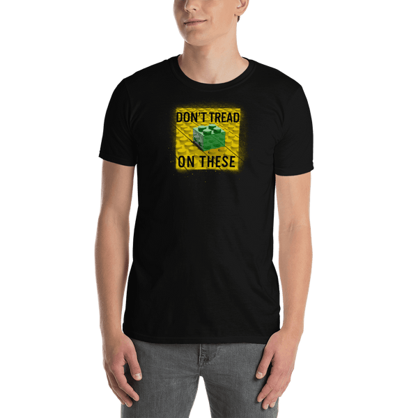 Don't Tread on These Bricks Short-Sleeve Unisex T-Shirt - Proud Libertarian