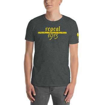 Repeal 1913 Michael Rufo for Congress Short-Sleeve Unisex T-Shirt - Proud Libertarian