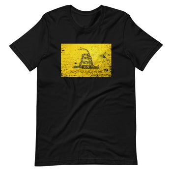 Don't Tread Distressed Short-Sleeve Unisex T-Shirt - Proud Libertarian