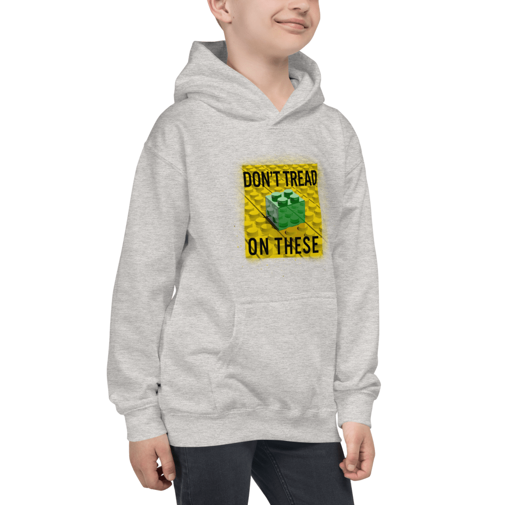 Don't Tread on These Bricks Youth Hoodie - Proud Libertarian