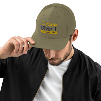 Chase Oliver For Congress Trucker Cap - Proud Libertarian