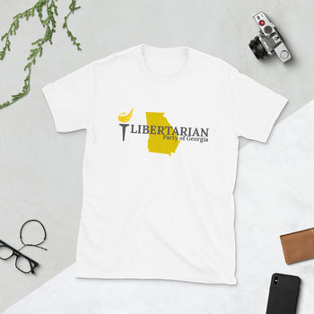 Libertarian Party of Georgia T-Shirt - Proud Libertarian