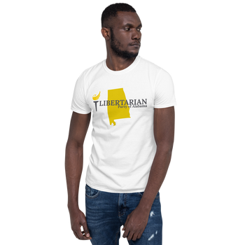 Libertarian Party of Alabama Short-Sleeve Unisex T-Shirt - Proud Libertarian