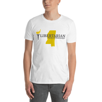 Libertarian Party of Mississippi Short-Sleeve Unisex T-Shirt - Proud Libertarian