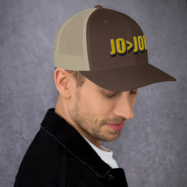 Jo > Joe Trucker Cap - Proud Libertarian