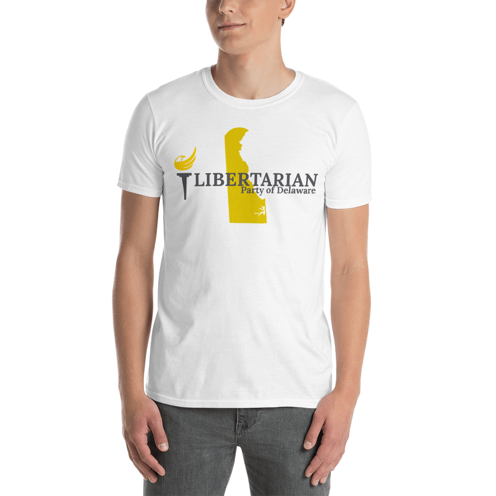 Libertarian Party of Delaware Short-Sleeve Unisex T-Shirt - Proud Libertarian