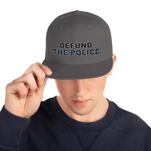 Defund the Police Snapback Hat - Proud Libertarian