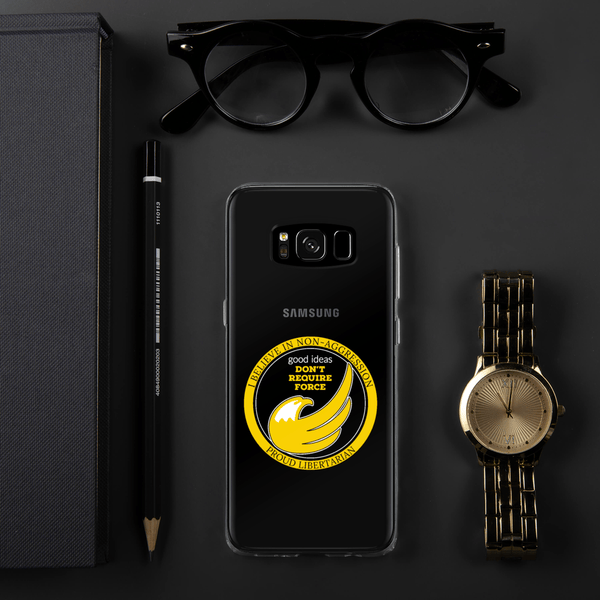 good ideas Don't require Force Samsung Case - Proud Libertarian
