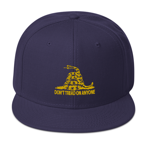 Don't Tread on Anyone Snapback Hat - Proud Libertarian