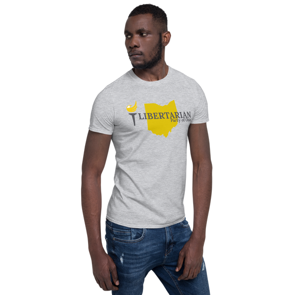 Libertarian Party of Ohio Short-Sleeve Unisex T-Shirt - Proud Libertarian