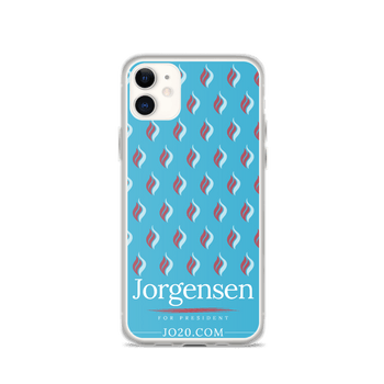 JO Jorgensen 2020 iPhone Case - Proud Libertarian