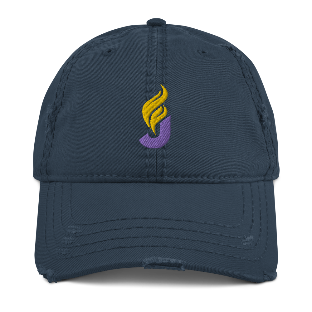 Jorgensen Cohen 2020 Distressed Dad Hat - Proud Libertarian
