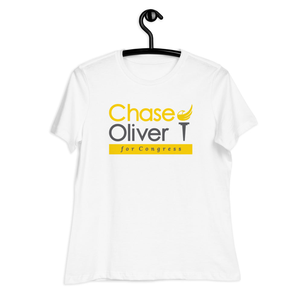 Chase Oliver for Congress Women's Relaxed T-Shirt - Proud Libertarian