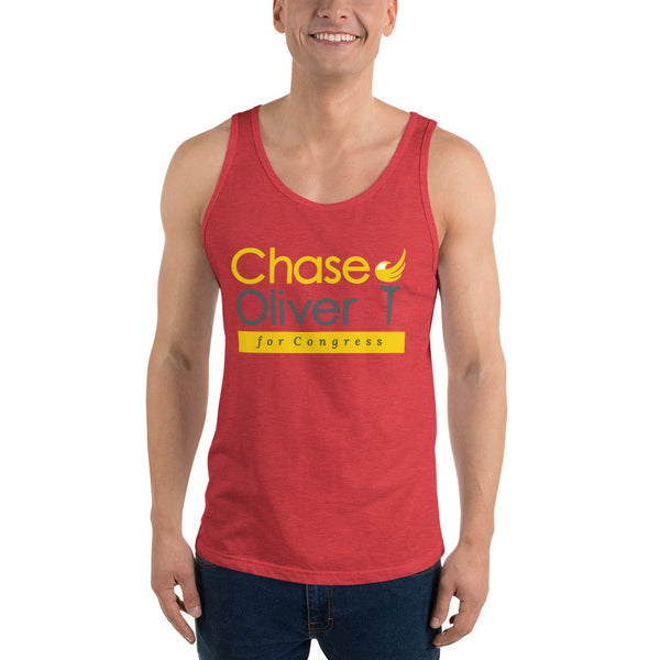 Chase Oliver for Congress Unisex Tank Top - Proud Libertarian