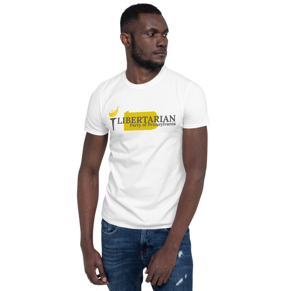 Libertarian Party of Pennsylvania Short-Sleeve Unisex T-Shirt - Proud Libertarian