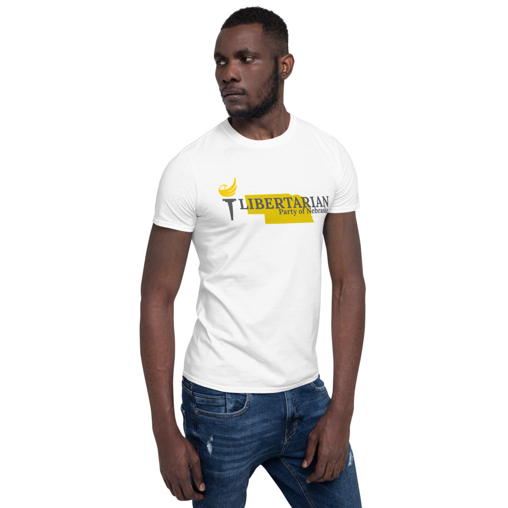 Libertarian Party of Nebraska Short-Sleeve Unisex T-Shirt - Proud Libertarian