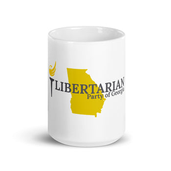 LIbertarian Party of Georgia Mug - Proud Libertarian