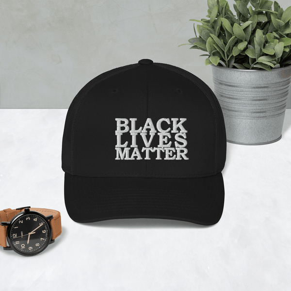 Black Lives Matter Trucker Cap - Proud Libertarian