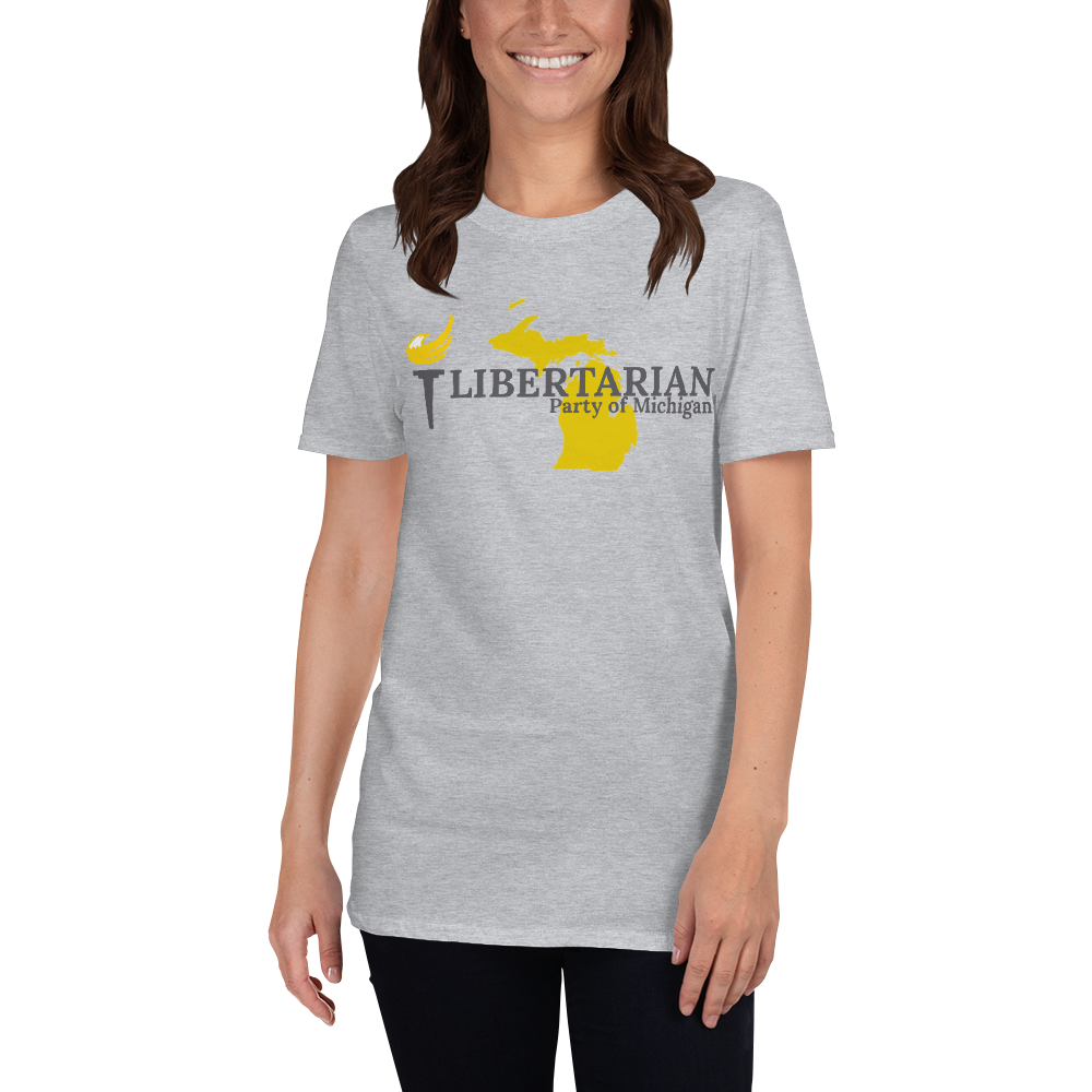 Libertarian Party of Michigan Short-Sleeve Unisex T-Shirt - Proud Libertarian