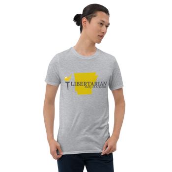 Libertarian Party of Arkansas Short-Sleeve Unisex T-Shirt - Proud Libertarian