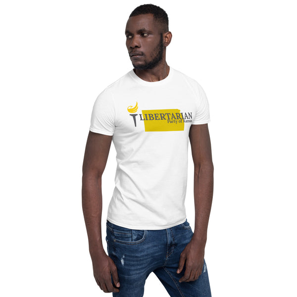Libertarian Party of Kansas Short-Sleeve Unisex T-Shirt - Proud Libertarian