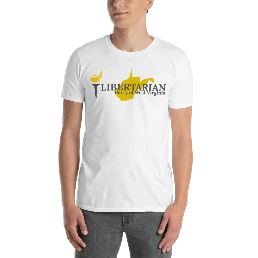 Libertarian Party of West Virginia Short-Sleeve Unisex T-Shirt - Proud Libertarian