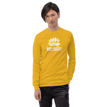 Libertarian Porcupine (Since 1971) Men's Long Sleeve Shirt - Proud Libertarian