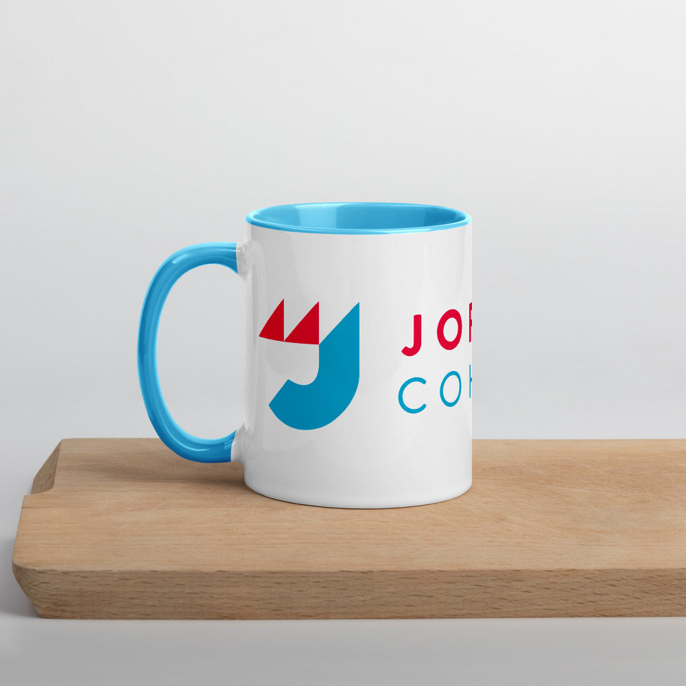 Jo Jorgensen 2020 Mug with Color Inside - Proud Libertarian