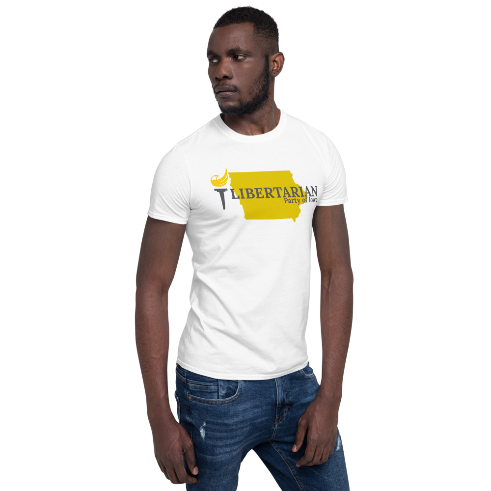 Libertarian Party of Iowa Short-Sleeve Unisex T-Shirt - Proud Libertarian