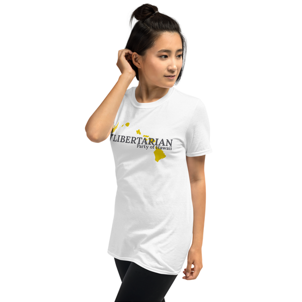 Libertarian Party of Hawaii Short-Sleeve Unisex T-Shirt - Proud Libertarian