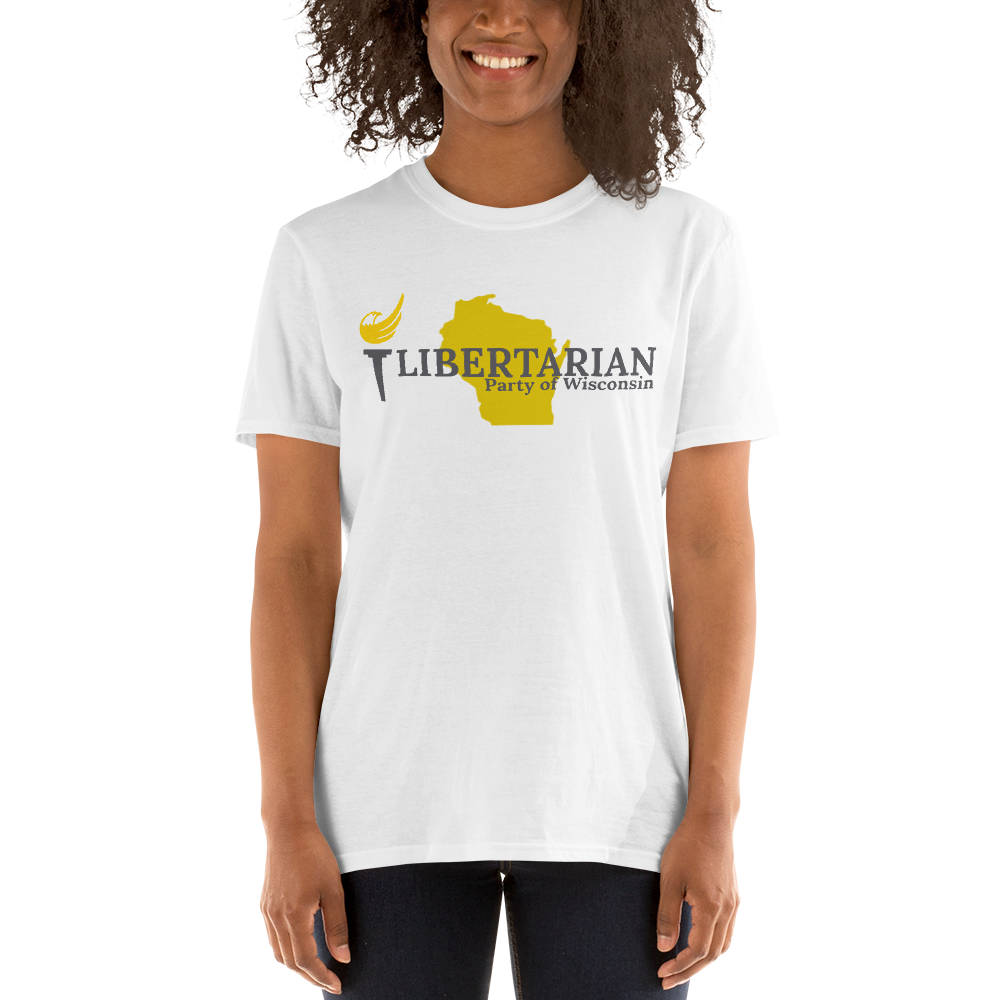 Libertarian Party of Wisconsin Short-Sleeve Unisex T-Shirt - Proud Libertarian