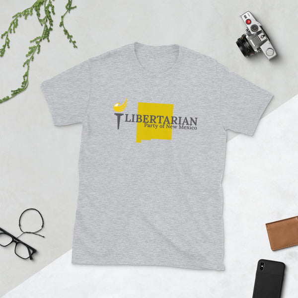Libertarian Party of New Mexico Short-Sleeve Unisex T-Shirt - Proud Libertarian