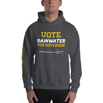 VOTE Rainwater for Governor - Rainwater for Indiana Hoodie - Proud Libertarian