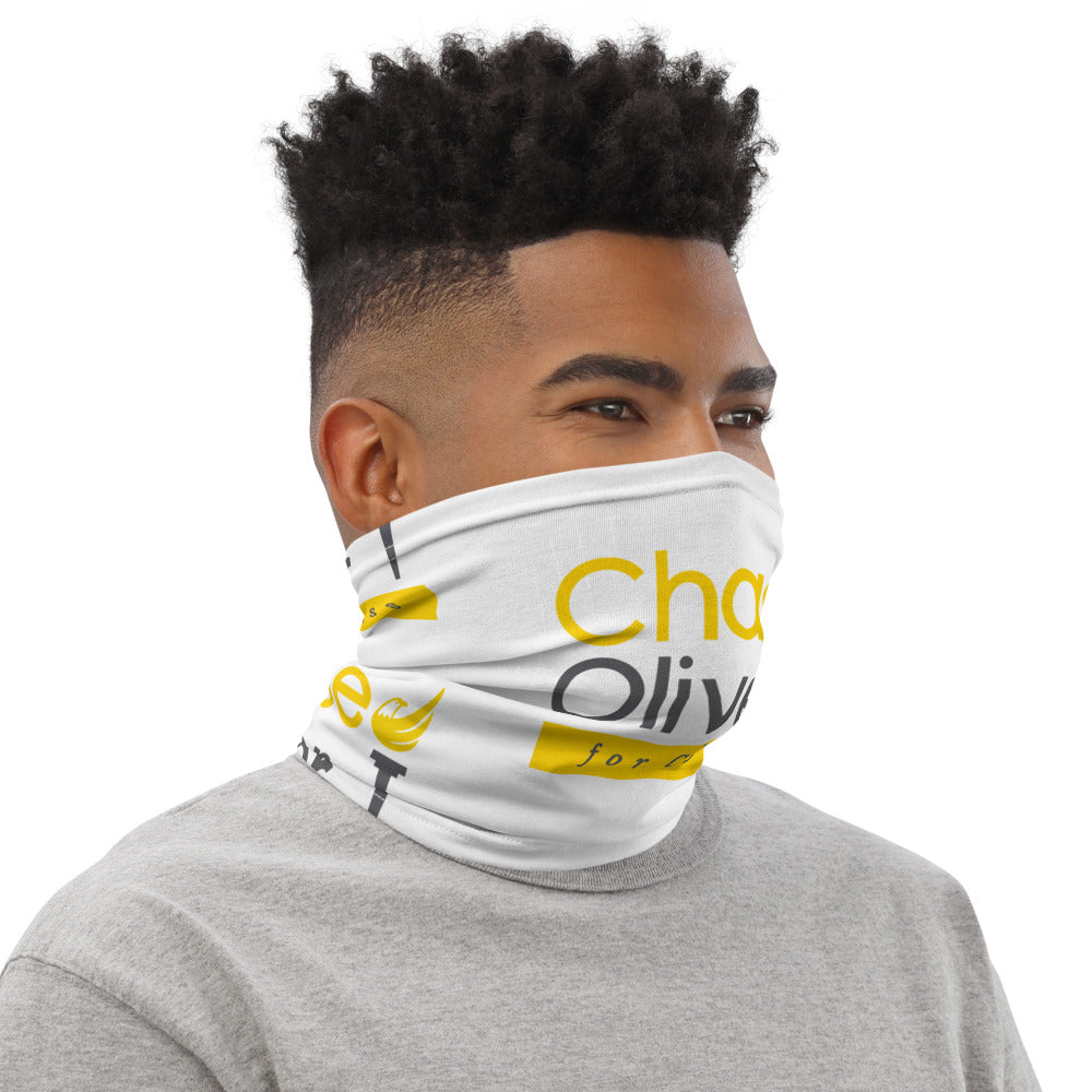 Chase Oliver for Congress Neck Gaiter - Proud Libertarian