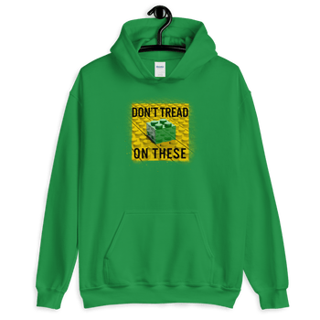 Don't Tread on These Bricks Unisex Hoodie - Proud Libertarian