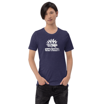 Libertarian Porcupine (Since 1971) Short-Sleeve Unisex Heathered T-Shirt - Proud Libertarian