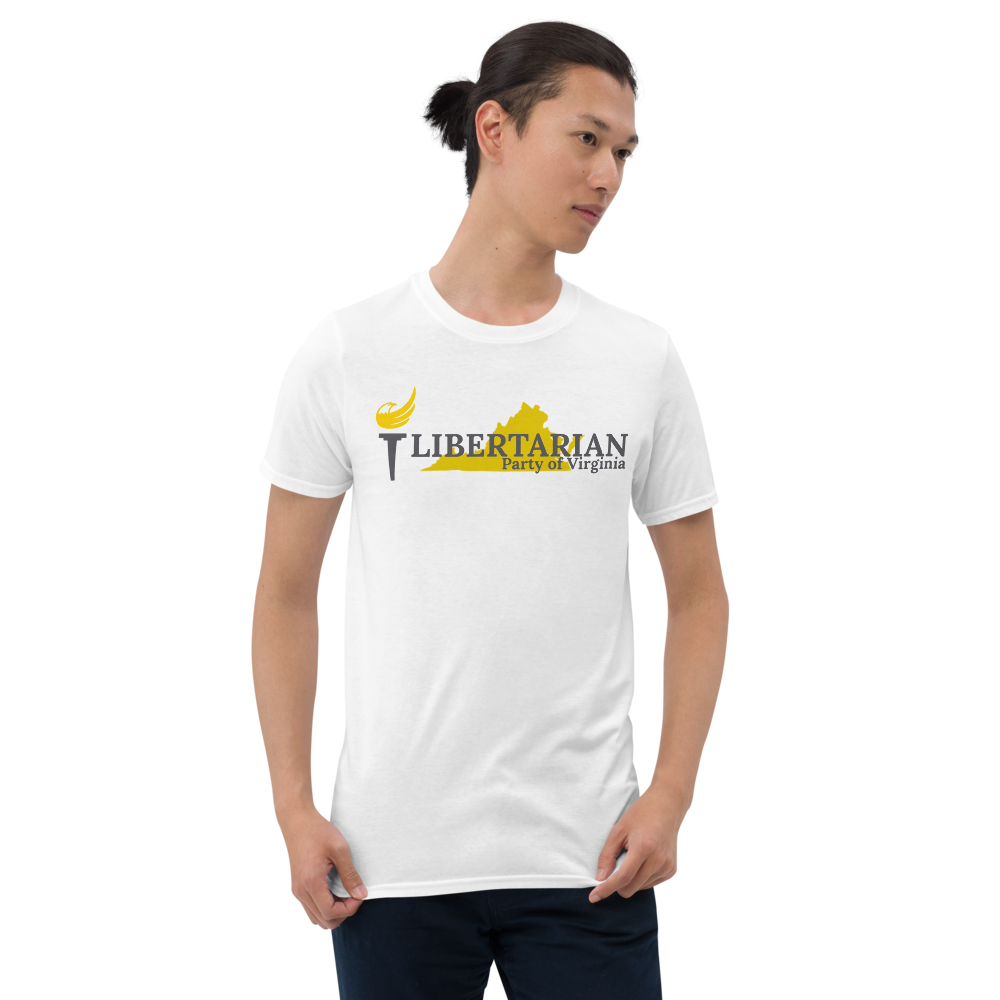 Libertarian Party of Virginia Short-Sleeve Unisex T-Shirt - Proud Libertarian