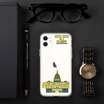 #Decentralize Everything Michael Rufo for Congress iPhone Case - Proud Libertarian