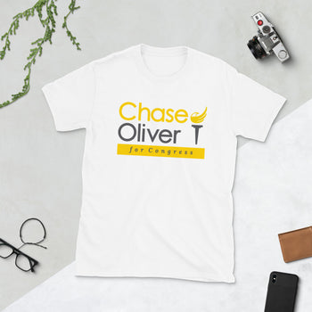 Chase Oliver for Congress Short-Sleeve Unisex T-Shirt - Proud Libertarian